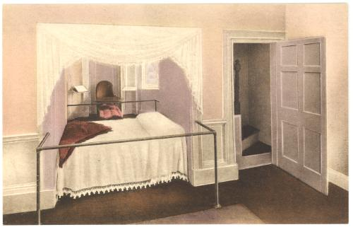 Thomas Jefferson Bed Virginia Charlottesville Monticello