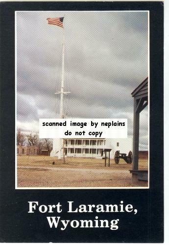 Wyoming Fort Laramie Old Bedlam