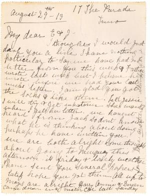 Letter card from england to usa 1906 detailed description ccuart Gallery