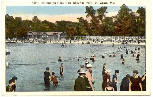 Missouri St Louis Fair Grounds Park Swimming Pool 217919