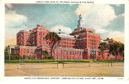 The Hartford Life Insurance >> CONNECTICUT Hartford - Aetna Life Insurance Building 1931