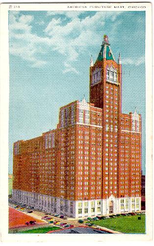 Illinois Chicago American Furniture Mart 1930s