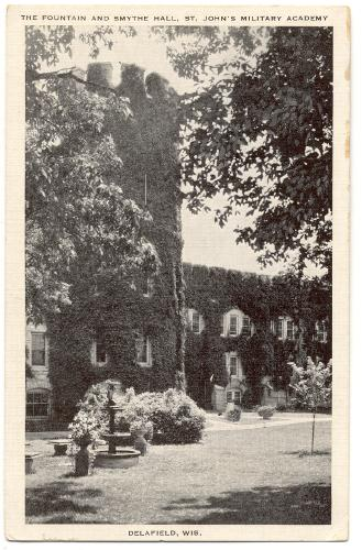 Delafield (WI) United States  City pictures : WISCONSIN Delafield St John's Military Academy Fountain and Smythe ...