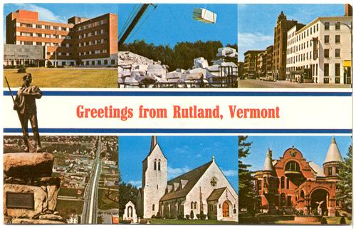 Rutland (VT) United States  city photos gallery : ... United States > Vermont > VERMONT Rutland Greetings from Rutland
