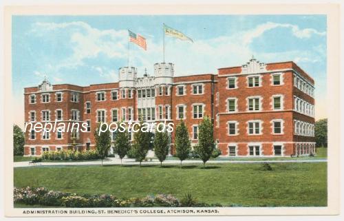 Atchison,KS Administration Building at Saint Benedicts